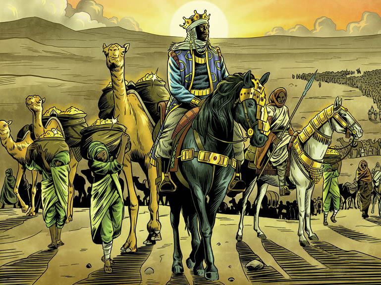Mansa Musa I of Mali – the richest man in all history | Hadithi Africa
